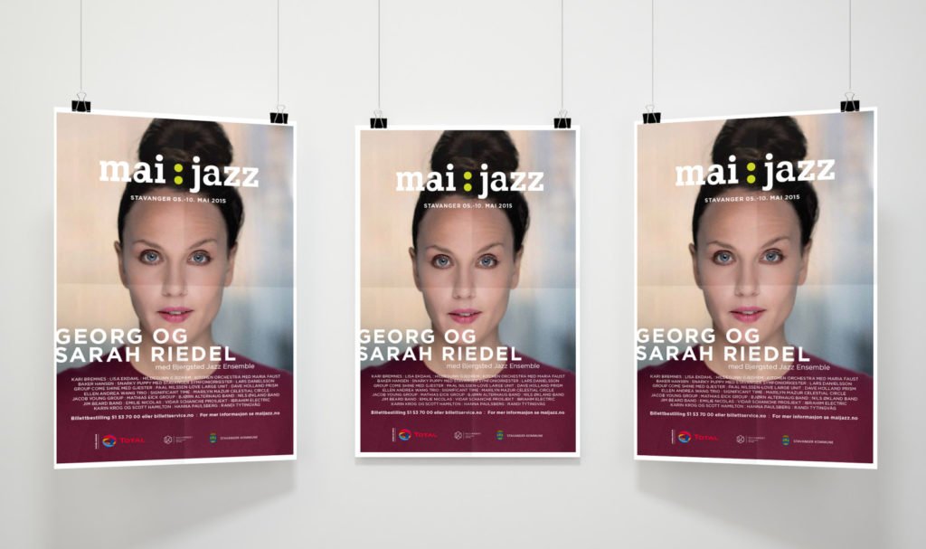 Poster design for Maijazz