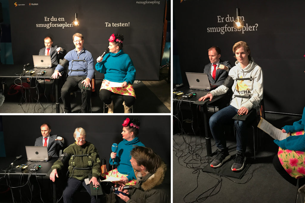 Sporveien and Rusken subjecting people to a polygraph test