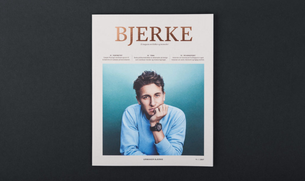 Front page of Bjerke magazine